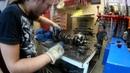 Капитальный ремонт и диагностика ДВС Honda CB400 Кривошипно шатунный и предаточный механизмы ч7