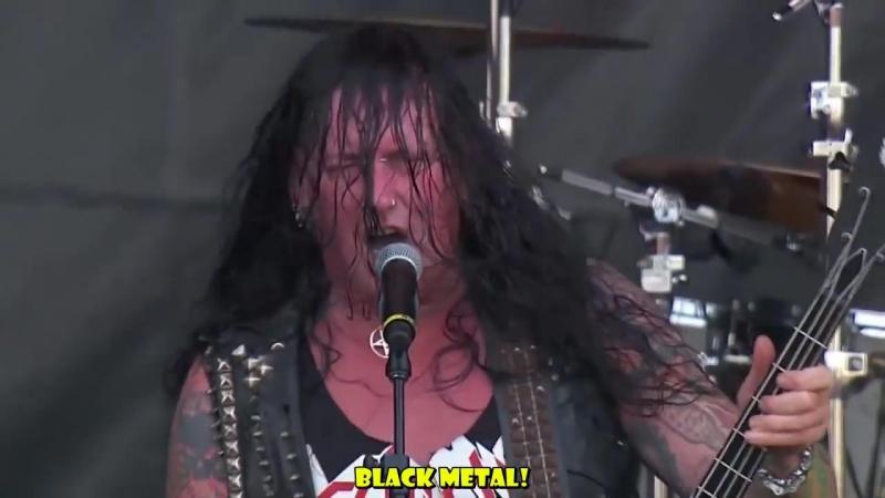 DESTRUCTION KRISIUN Black Metal Venom cover Legendado HD live Rock in Rio 2013