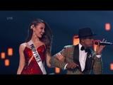 Ne-Yo Performs Miss Independent During Final Walk at 2018 Miss Universe