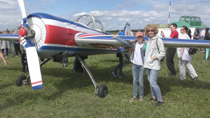 Праздник Крылья Урала - 2018 на аэродроме Логиново. Поездка выходного дня.