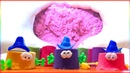 Kinetic Sand - Learn Colors Shapes with Toys! l Nursery Rhymes Song For Kids 2019