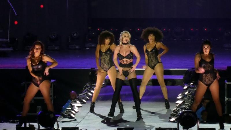 Britney Spears - Breath on Me - Piece of Me Tour 2018 - Live @ Sparkassenpark Mönchengladbach