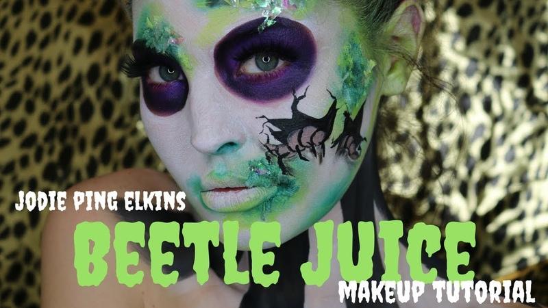 Jodie Ping | BeetleJuice Halloween Makeup Tutorial