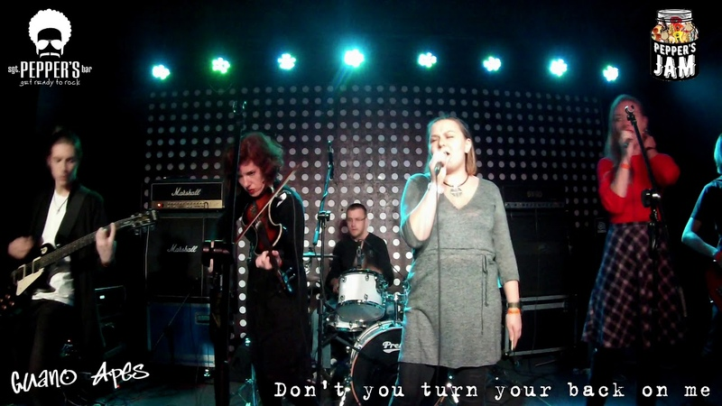 Guano Apes – Dont you turn your back on me (cover) Peppers Jam @Sgt.Peppers Bar|22
