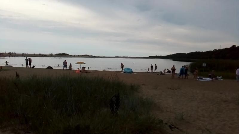 город-курорт Янтарный обладатель голубого флага пляжа