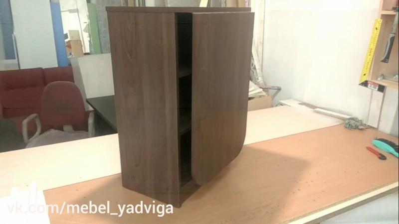 Мебель Ядвига Маникюрный стол МС7 цвет Вяз швейцарский