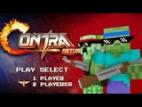 Monster School GARENA CONTRA RETURN CHALLENGE - Minecraft Animation