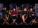 BOHEMIAN RHAPSODY Interview_ Rami Malek, Gwilym Lee, Joseph Mazello and Lucy Boynton