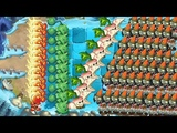 Plants vs Zombies 2 - Fire Peashooter, Cabbage Pult and Pepper Pult