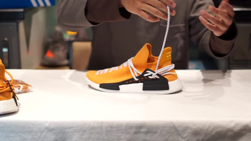 [Picsoleated] HOW TO HYPEBEAST LACE PHARRELL HU NMD HUMAN RACE TUTORIAL DIY