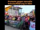 Proteste gegen sexuelle Schulaufklärung in Köln