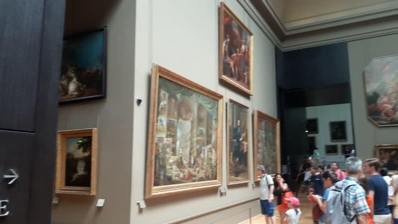 То, что я видел в Лувре. Июль 2018 г. V2