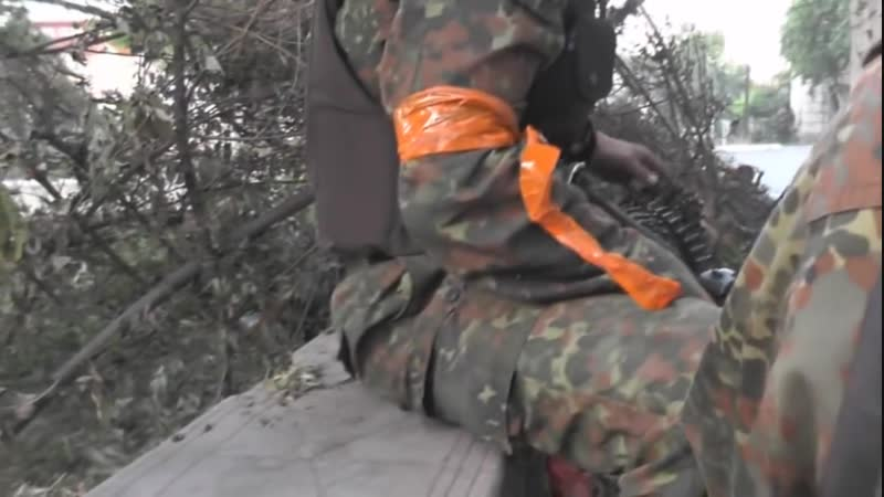 Возстаніе въ Малороссіи 2014. Украинскій батальонъ «Азовъ» захватилъ Маріуполь. 31 мая (13 іюня) 2014