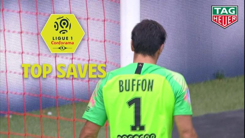Best goalkeeper saves : Week 6 / 2018-19