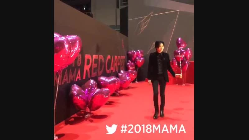 MAMA 2018MAMA FANS CHOICE in JAPAN MINUE on MAMARedCarpet MAMA MAMA10 LikeMAMA 12 12 18