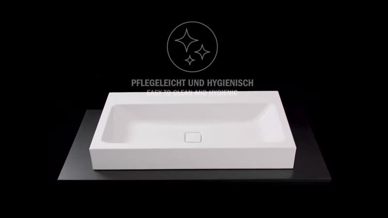 Material advantage easy to clean and hygienic - KALDEWEI steel enamel