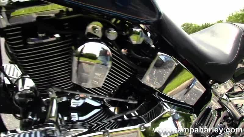Used 1998 Harley Davidson FLSTF Fatboy Custom Motorcycles For Sale