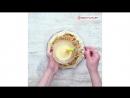 Открытый пирог с творогом, яблоками и курагой | Больше рецептов в группе Кулинарные Рецепты