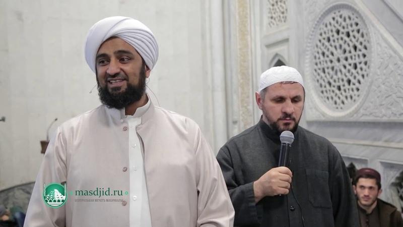 Мухаммад Ас Саккаф в Центральной мечети г Махачкала