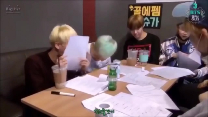 Dont you just love it when jin laughs so wholeheartedly to the point where his eyes crinkl