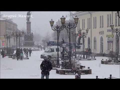 Вспоминая вчерашний снег! Winter! Sity!