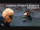 Bamboe stones a Silencer to death