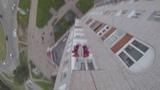 B.A.S.E. Прыжок с 14 этажки. Адепт на Мира. Великий Новгород. Макконки.