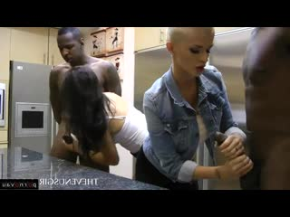 Scarlet banks & joslyn james [ masturbation &  negros &  young / with blacks , black women , sex in clothes , jerking off a guy]