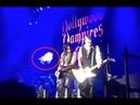 Во время рок концерта в Олимпийском фанатки закидали Джонни Деппа лифчиками