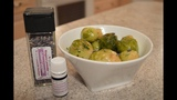 Brussel Sprouts with Lavender Butter Made in Niagara