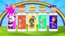 Маша и Медведь Новые Герои Телефончики 5 малышей на батуте Песенки для детей