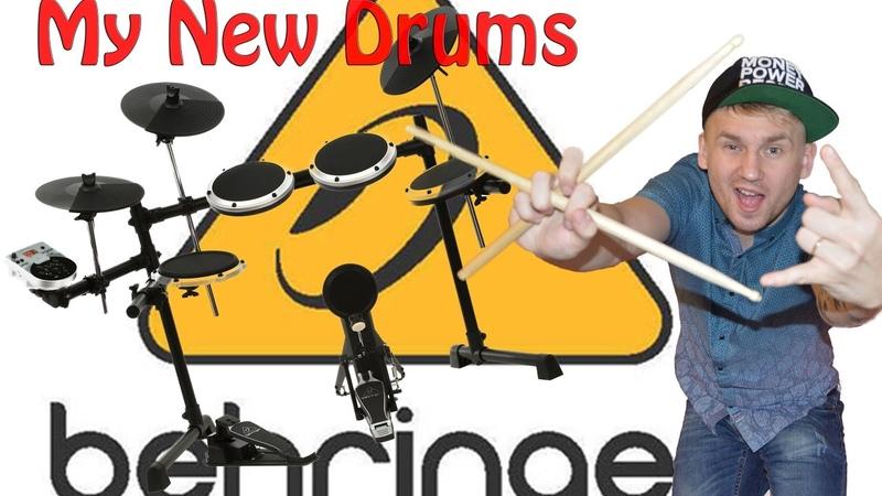 Подключение электронных барабанов к PC или Mac Behringer Addictive Drums 2