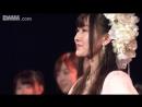 Yagura Fuuko Sotsugyou Ceremony @ 180410 NMB48 Stage BII4 Renai Kinshi Jourei