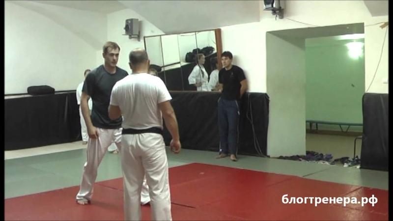 Семинар Арсения Филатова по базовой технике Киокусинкай - 4 часть