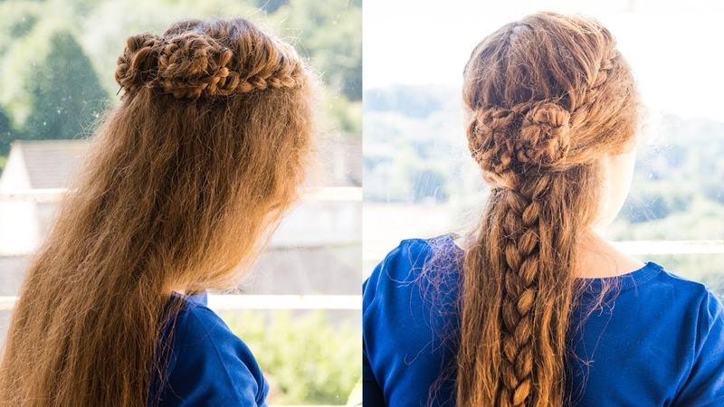 Sansa Stark Two Roses Season Seven and Hands Tourney. French Lace Braids