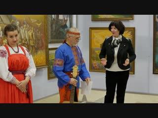 Открытие персональной выставки живописи самарского художника Евгения Штырова