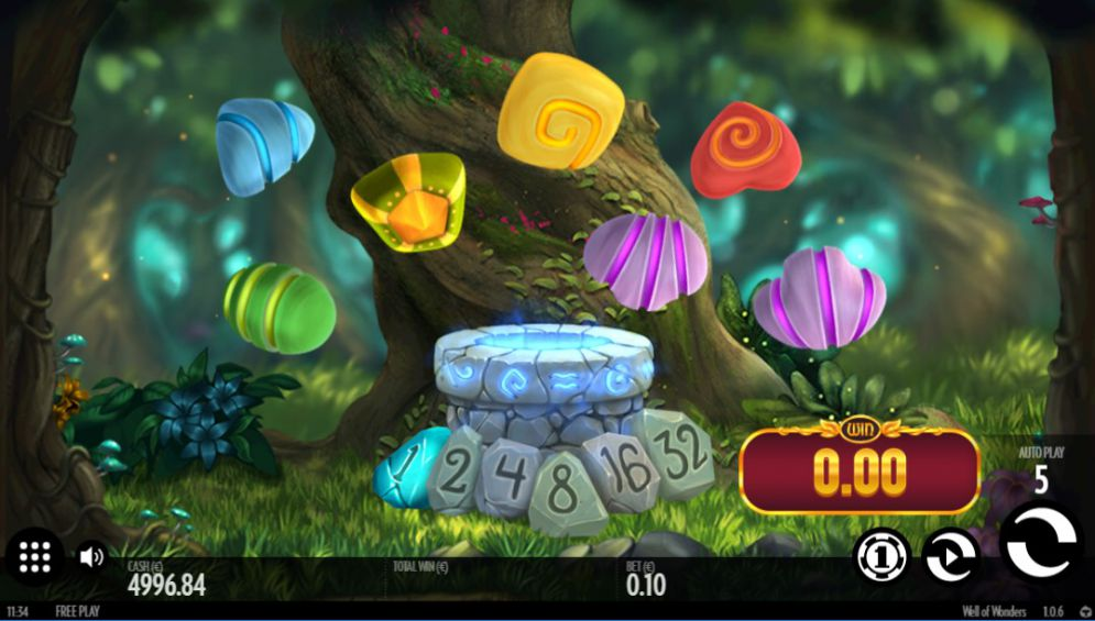 Вулкан: Игровой автомат Well Of Wonders