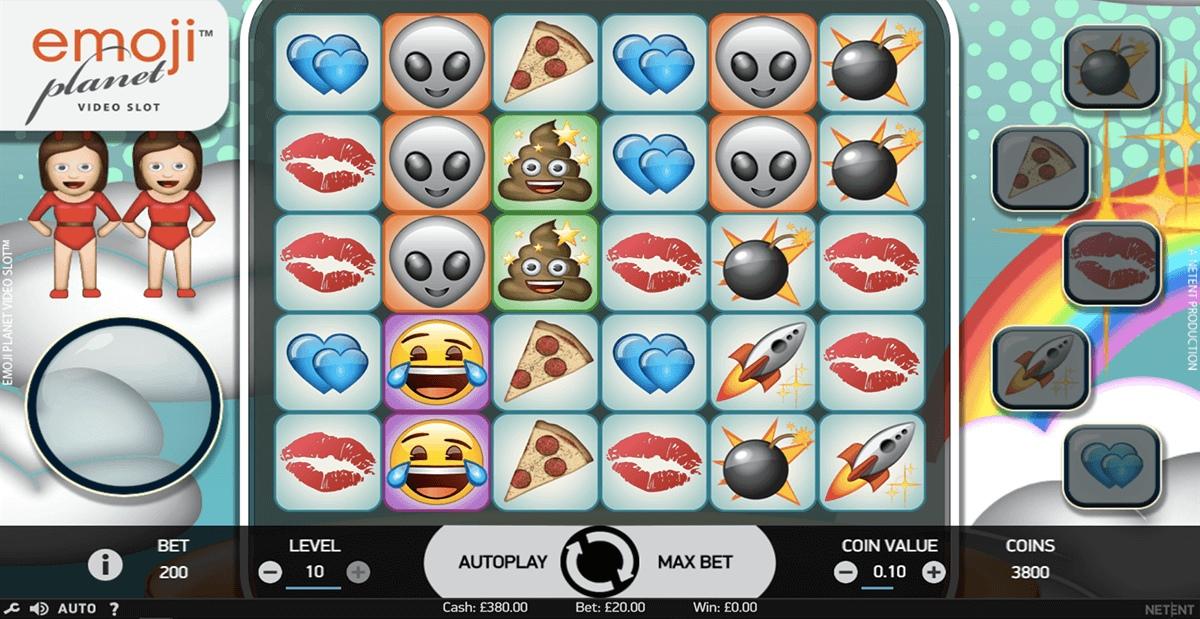 Обзор игрового автомата Emojiplanet в казино на деньги