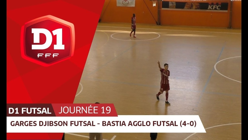 J19 : Garges Djibson Futsal - Bastia Agglo Futsal