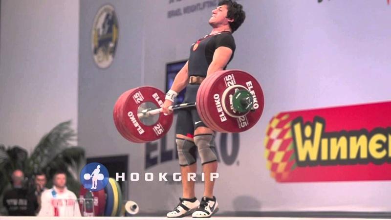 Razmik Unanyan (77) - 192kg Clean