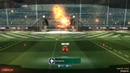 Rocket League's Jurassic World Car Pack goal explosion
