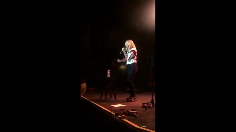 Julia Michaels - I Miss You (Live in Toronto)