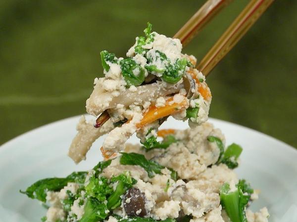 Shiraae (Mixed Tofu and Spring Vegetables) 白和え 作り方レシピ