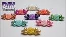 DIY Tutorial Bros Dagu Mutiara Simple Tiny pin without glue Membuat souvenir sendiri Bros