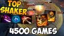 4500 Games SHAKER Top Dotabuff Player Dota 2 HighlightsTV