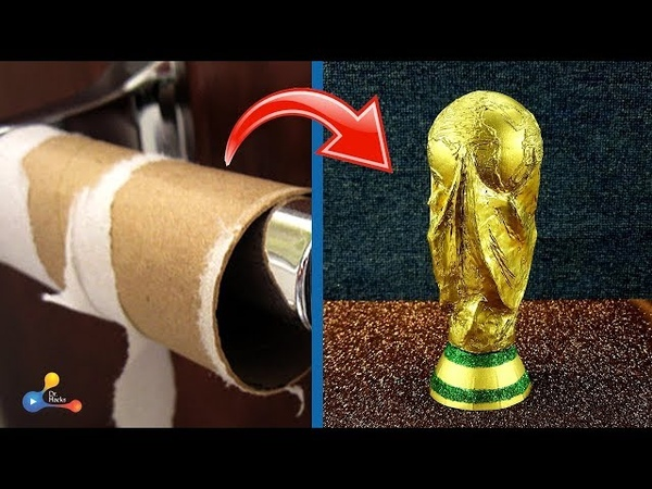 How to make FIFA World Cup Trophy | How did I do it? | DIY world cup trophy