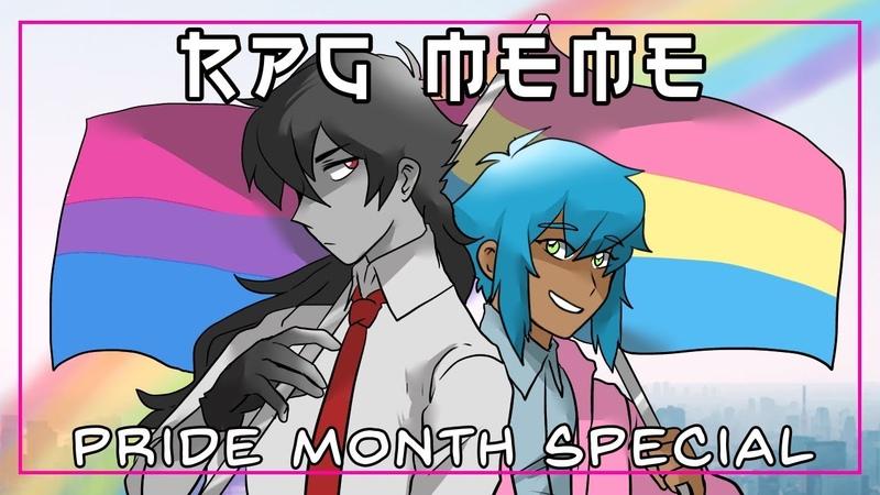 RPG Meme LGBTQ Pride Month Special
