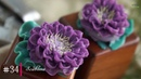 34 Scabiosa | How to Buttercream flowers with MeNgheHomemade