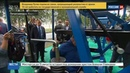 Новости на Россия 24 Путин осмотрел бесплатный тренажерный зал под открытым небом в Петрозаводске