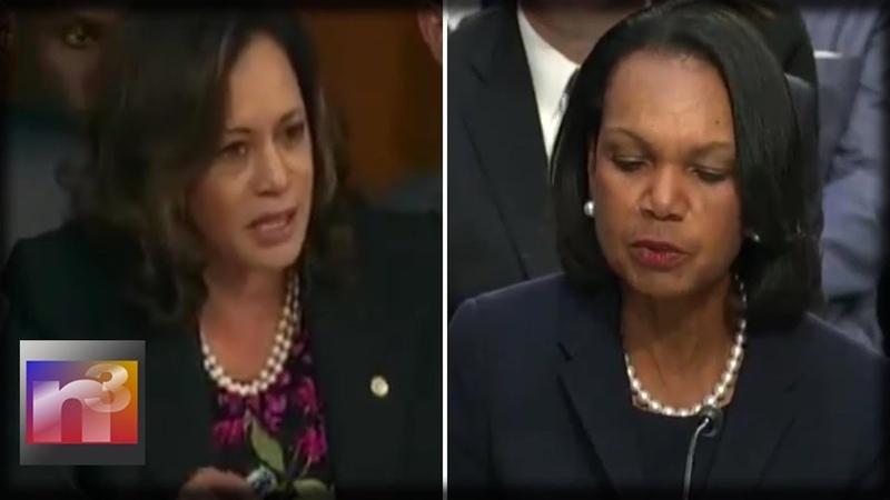Dem Senator SILENCED When Condi Rice Testifies At Kavanaugh Hearing - You Can't Debate That!